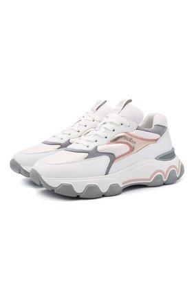 Комбинированные кроссовки Hyperactive | Фото №1