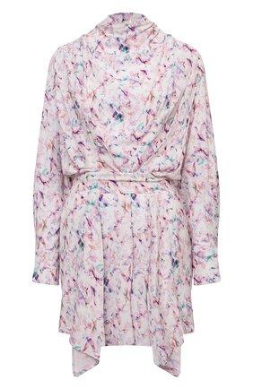 Женское платье из вискозы IRO светло-розового цвета, арт. WP33BILY | Фото 1