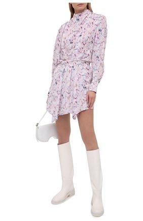 Женское платье из вискозы IRO светло-розового цвета, арт. WP33BILY | Фото 2
