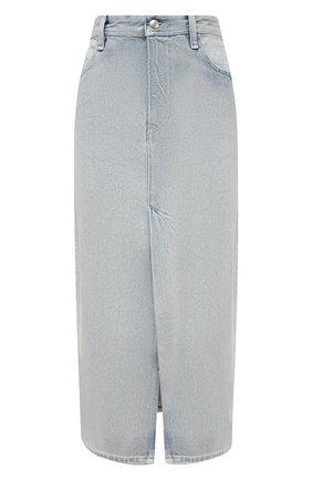 Женская джинсовая юбка IRO светло-голубого цвета, арт. WP31MISSA | Фото 1