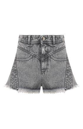 Женские джинсовые шорты IRO серого цвета, арт. WP30L0REZ | Фото 1
