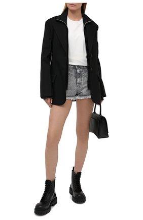 Женские джинсовые шорты IRO серого цвета, арт. WP30L0REZ | Фото 2