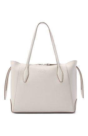 Женский сумка-шопер aos medium TOD'S белого цвета, арт. XBWA0SA0300RIA | Фото 1