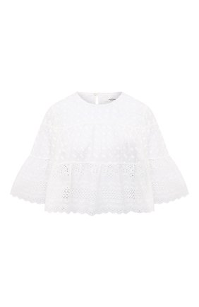 Женская хлопковая блузка ISABEL MARANT ETOILE белого цвета, арт. HT2041-21P032E/TEVIKA | Фото 1