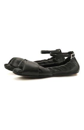 Женские кожаные балетки VIC MATIE черного цвета, арт. 1Z5628D.Z02U140101 | Фото 1