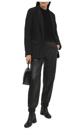 Женские кожаные ботильоны VIC MATIE черного цвета, арт. 1Z5756D.Z12Y190101 | Фото 2