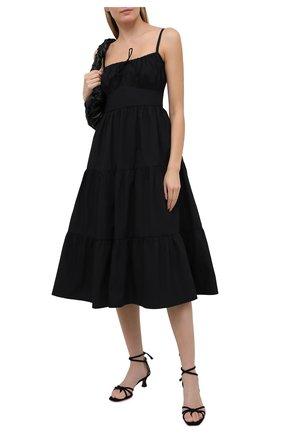 Женское хлопковое платье FAITHFULL THE BRAND черного цвета, арт. FF1672-BLK | Фото 2