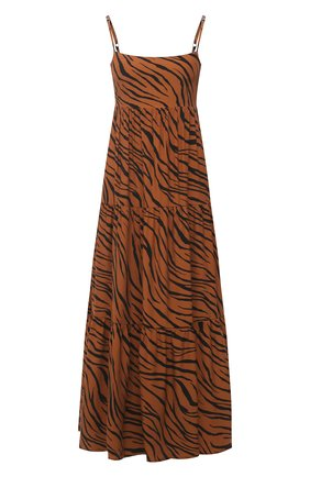 Женское платье из вискозы FAITHFULL THE BRAND коричневого цвета, арт. FF1659-KAP | Фото 1