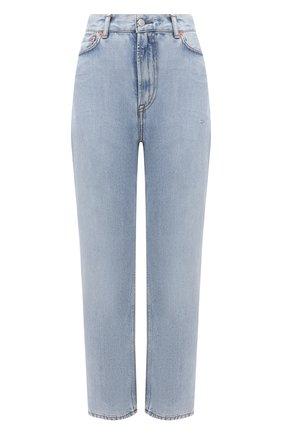 Женские джинсы ACNE STUDIOS голубого цвета, арт. A00280   Фото 1