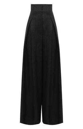 Женские брюки BRUNELLO CUCINELLI черного цвета, арт. MH135P7509 | Фото 1