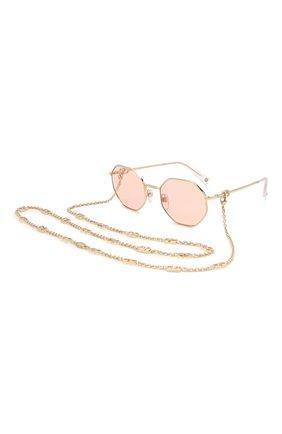 Женские солнцезащитные очки VALENTINO розового цвета, арт. 2040-3003/5 | Фото 1