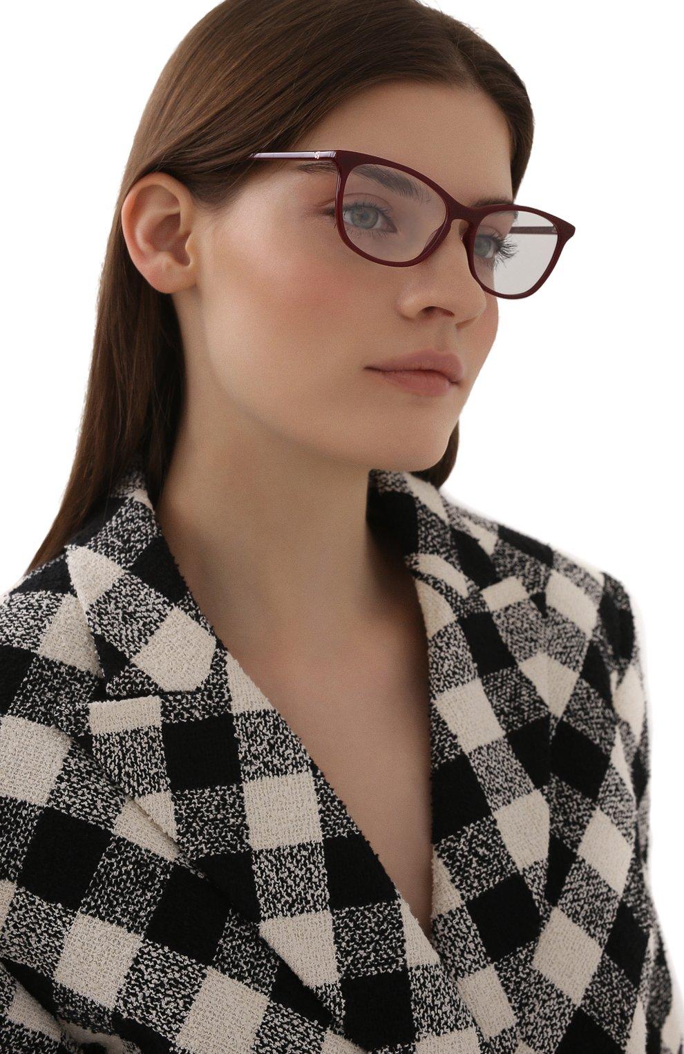 Женские оправа GUCCI бордового цвета, арт. GG0549 010 | Фото 2