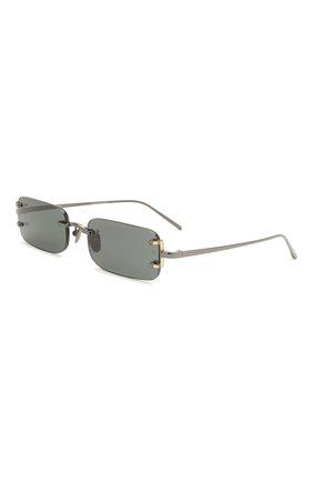 Женские солнцезащитные очки LINDA FARROW черного цвета, арт. LFL1131C4 SUN   Фото 1
