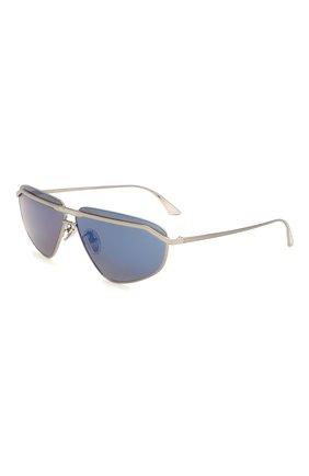 Женские солнцезащитные очки BALENCIAGA синего цвета, арт. BB0138S 002 | Фото 1