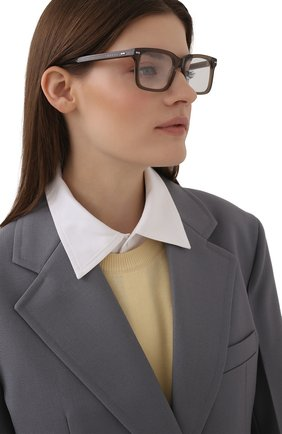 Женские оправа GUCCI серого цвета, арт. GG0914 002 | Фото 2