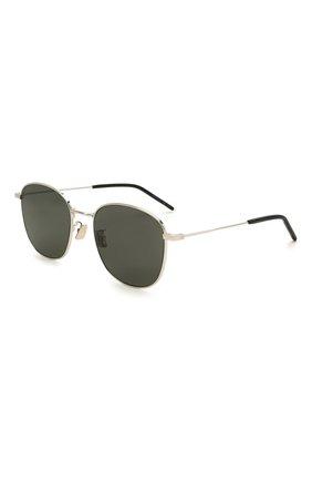 Женские солнцезащитные очки SAINT LAURENT черного цвета, арт. SL 273/K 002 | Фото 1