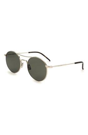 Женские солнцезащитные очки SAINT LAURENT черного цвета, арт. SL 421 002 | Фото 1