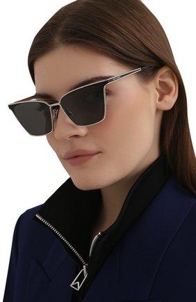 Женские солнцезащитные очки SAINT LAURENT черного цвета, арт. SL 429 001 | Фото 2