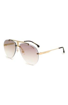 Женские солнцезащитные очки CARRERA фиолетового цвета, арт. CARRERA 1032 06J   Фото 1 (Тип очков: С/з; Оптика Гендер: оптика-унисекс; Очки форма: Авиаторы)