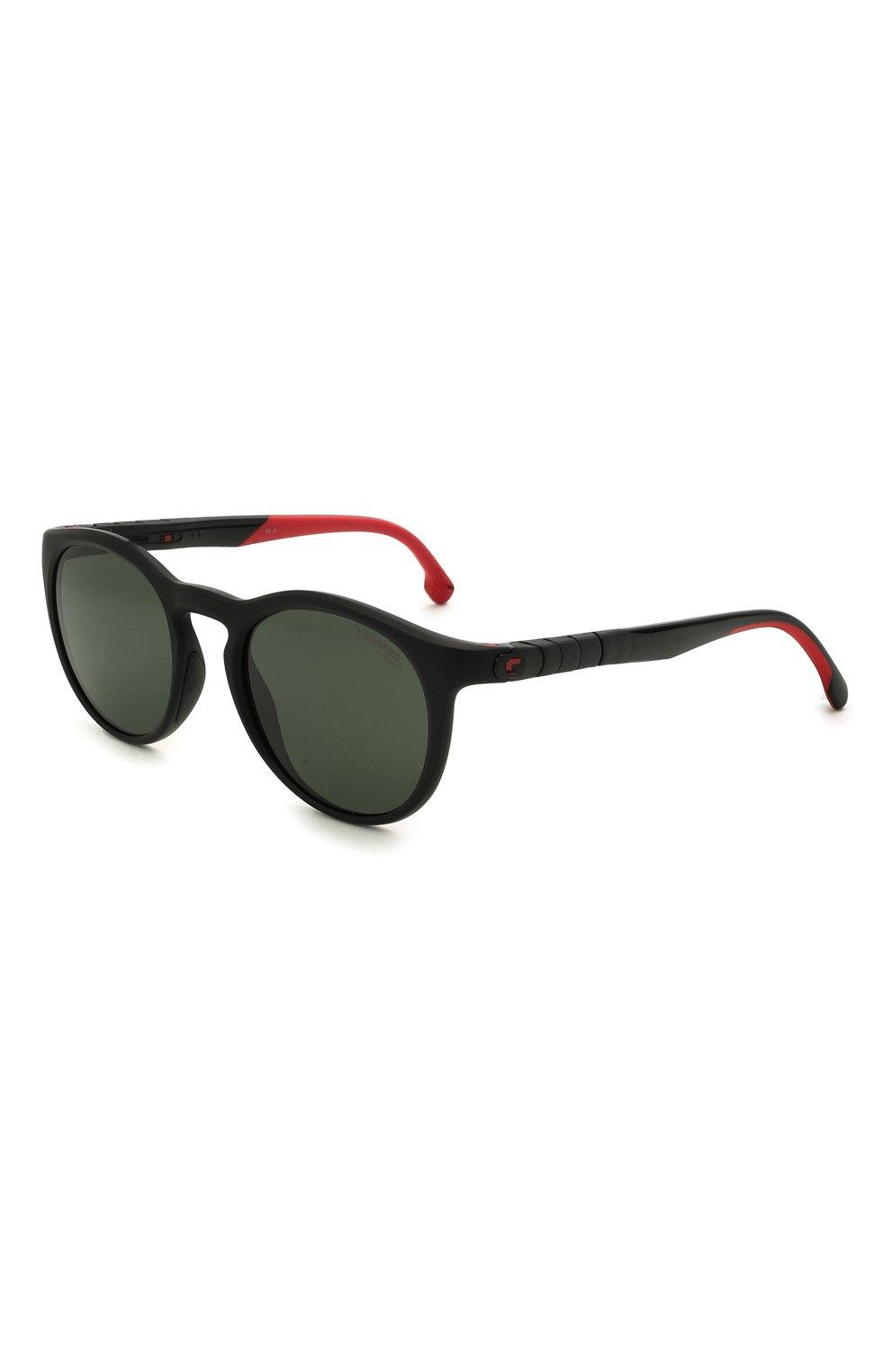 Женские солнцезащитные очки CARRERA черного цвета, арт. HYPERFIT 18 003   Фото 1 (Тип очков: С/з; Очки форма: Круглые; Оптика Гендер: оптика-унисекс)
