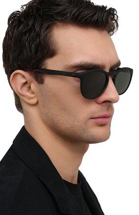 Женские солнцезащитные очки CARRERA черного цвета, арт. HYPERFIT 18 003   Фото 3 (Тип очков: С/з; Очки форма: Круглые; Оптика Гендер: оптика-унисекс)