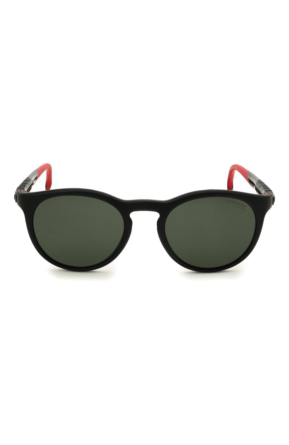 Женские солнцезащитные очки CARRERA черного цвета, арт. HYPERFIT 18 003   Фото 4 (Тип очков: С/з; Очки форма: Круглые; Оптика Гендер: оптика-унисекс)