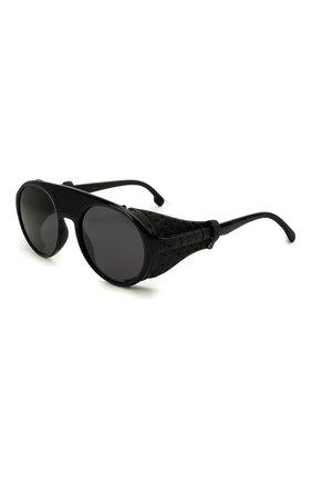 Женские солнцезащитные очки CARRERA черного цвета, арт. HYPERFIT 19 807   Фото 1 (Тип очков: С/з; Оптика Гендер: оптика-унисекс; Очки форма: Круглые)