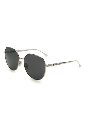 Женские солнцезащитные очки FENDI черного цвета, арт. 0451/F 6LB   Фото 1