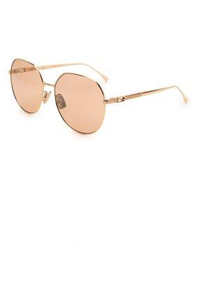 Женские солнцезащитные очки FENDI розового цвета, арт. 0451/F DDB   Фото 1