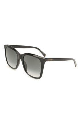 Женские солнцезащитные очки GIVENCHY черного цвета, арт. 7199 807 | Фото 1