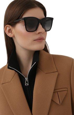 Женские солнцезащитные очки GIVENCHY черного цвета, арт. 7199 807 | Фото 2
