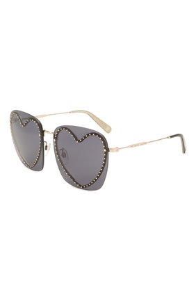 Женские солнцезащитные очки MARC JACOBS (THE) черного цвета, арт. MARC 493 013 | Фото 1