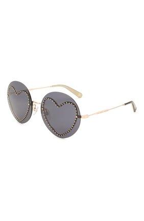 Женские солнцезащитные очки MARC JACOBS (THE) черного цвета, арт. MARC 494/G 013 | Фото 1