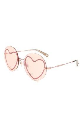 Женские солнцезащитные очки MARC JACOBS (THE) розового цвета, арт. MARC 494/G 733 | Фото 1