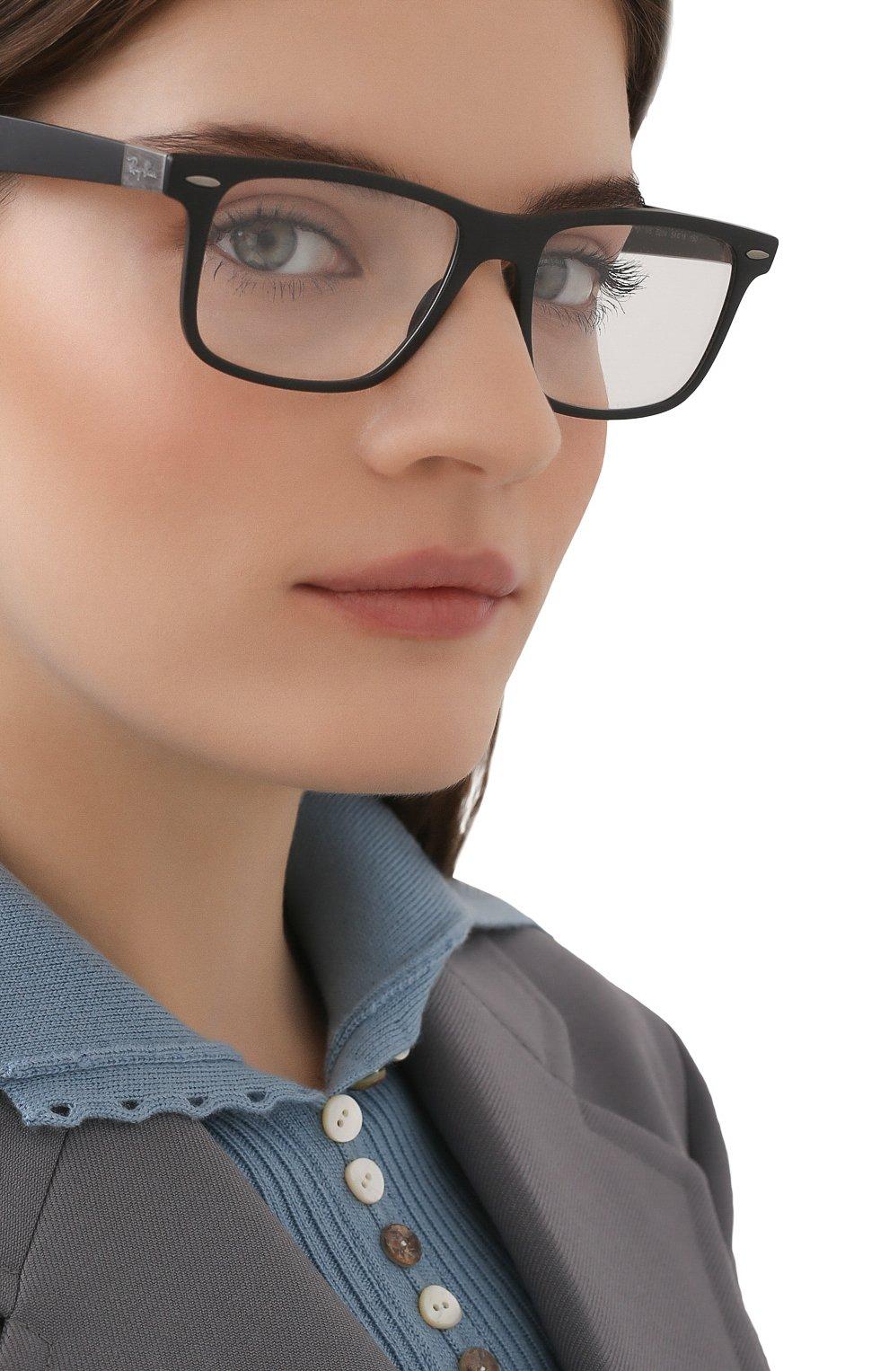 Женские оправа RAY-BAN черного цвета, арт. 7165-5204 | Фото 2