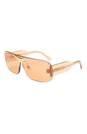 Женские солнцезащитные очки BURBERRY коричневого цвета, арт. 3123-3358/3 | Фото 1