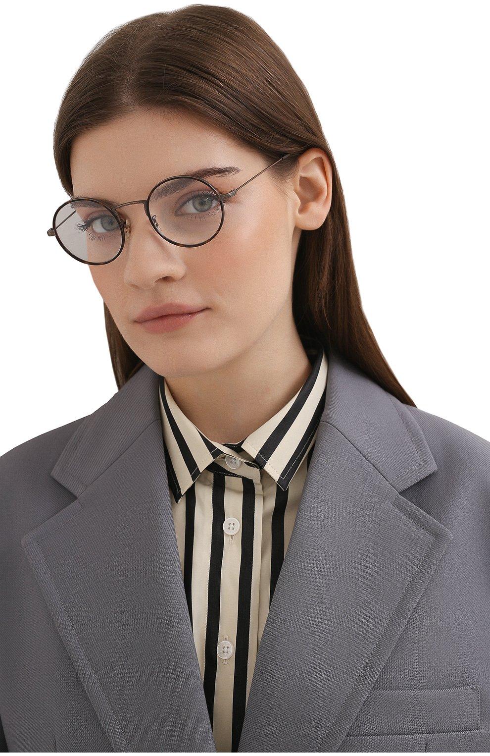 Женские оправа OLIVER PEOPLES коричневого цвета, арт. 1250T-5285 | Фото 2