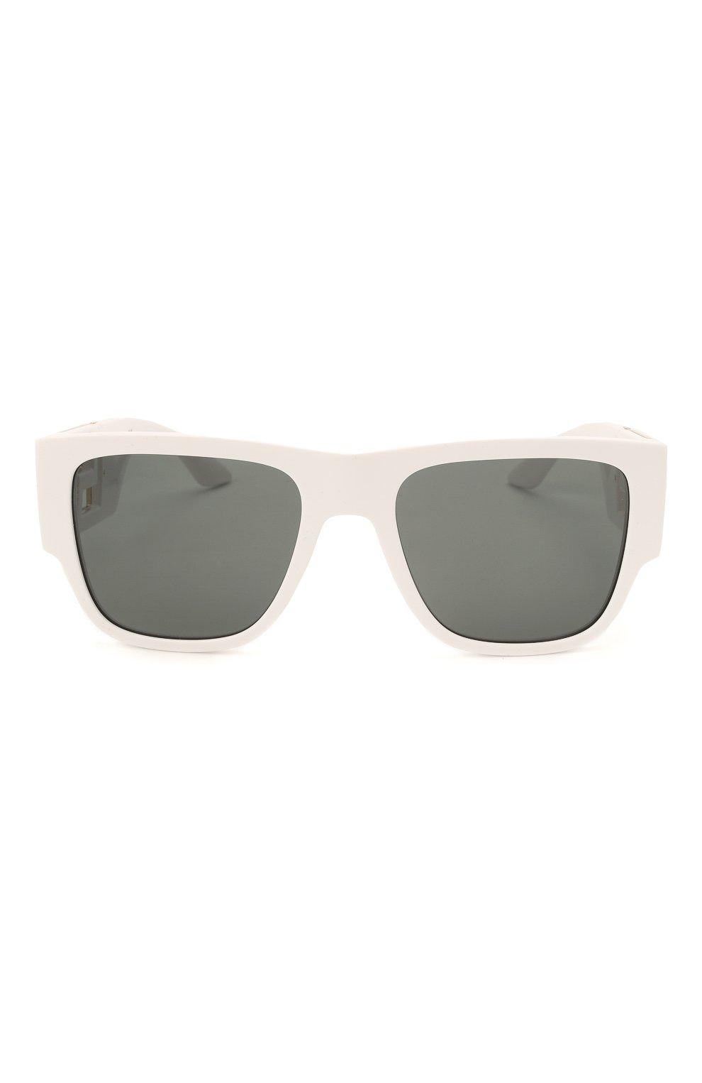 Женские солнцезащитные очки VERSACE белого цвета, арт. 4403-314/87   Фото 3