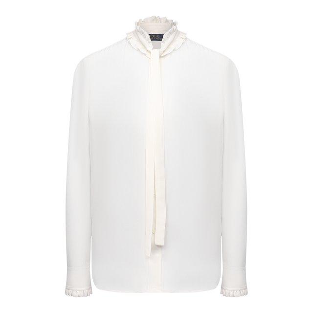 Шелковая блузка Polo Ralph Lauren