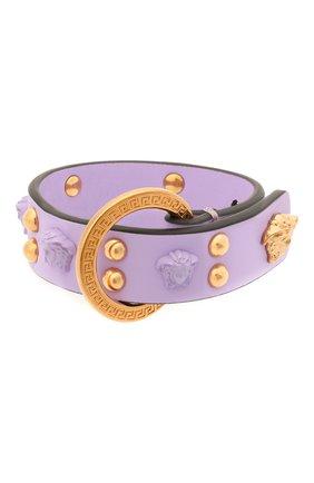 Кожаный браслет Medusa | Фото №1