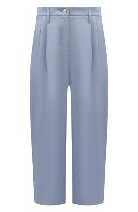 Женские брюки GIORGIO ARMANI синего цвета, арт. 1SHPP0H1/T02FB | Фото 1