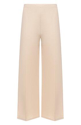 Женские льняные брюки FAITHFULL THE BRAND кремвого цвета, арт. FF1683-PSD | Фото 1