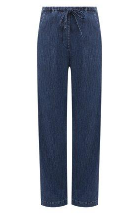 Женские джинсы VALENTINO синего цвета, арт. VB3DDD27433 | Фото 1