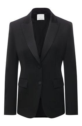Женский шерстяной жакет BOSS черного цвета, арт. 50441975 | Фото 1