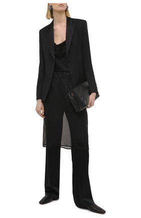 Женский шерстяной жакет BOSS черного цвета, арт. 50441975 | Фото 2