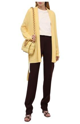 Женский кашемировый кардиган LORO PIANA желтого цвета, арт. FAL5050 | Фото 2