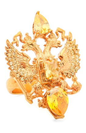 Женское кольцо soviet me DZHANELLI золотого цвета, арт. 382/0210 | Фото 1