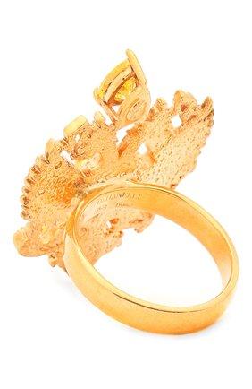 Женское кольцо soviet me DZHANELLI золотого цвета, арт. 382/0210 | Фото 2