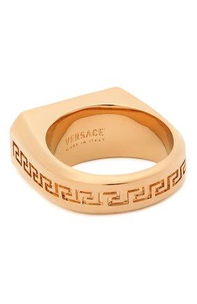 Женское кольцо charm VERSACE золотого цвета, арт. DG5I023/DJMX | Фото 2 (Материал: Металл)
