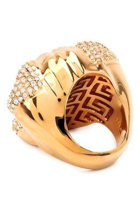Женское кольцо medusa VERSACE золотого цвета, арт. DG5I026/DJMX | Фото 2 (Материал: Металл)